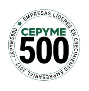 ISOTRON ha sido incluida en el listado CEPYME500