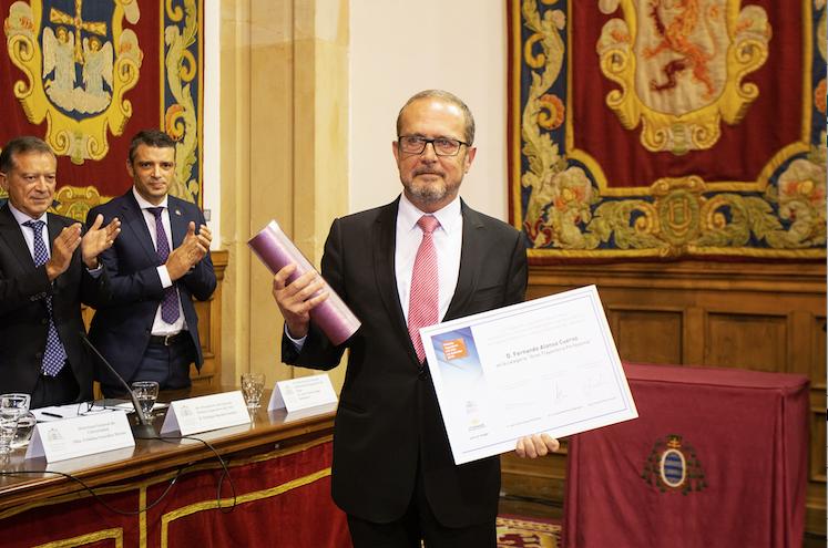 Se entregaron los premios Ingeniero del Año en Asturias 2019