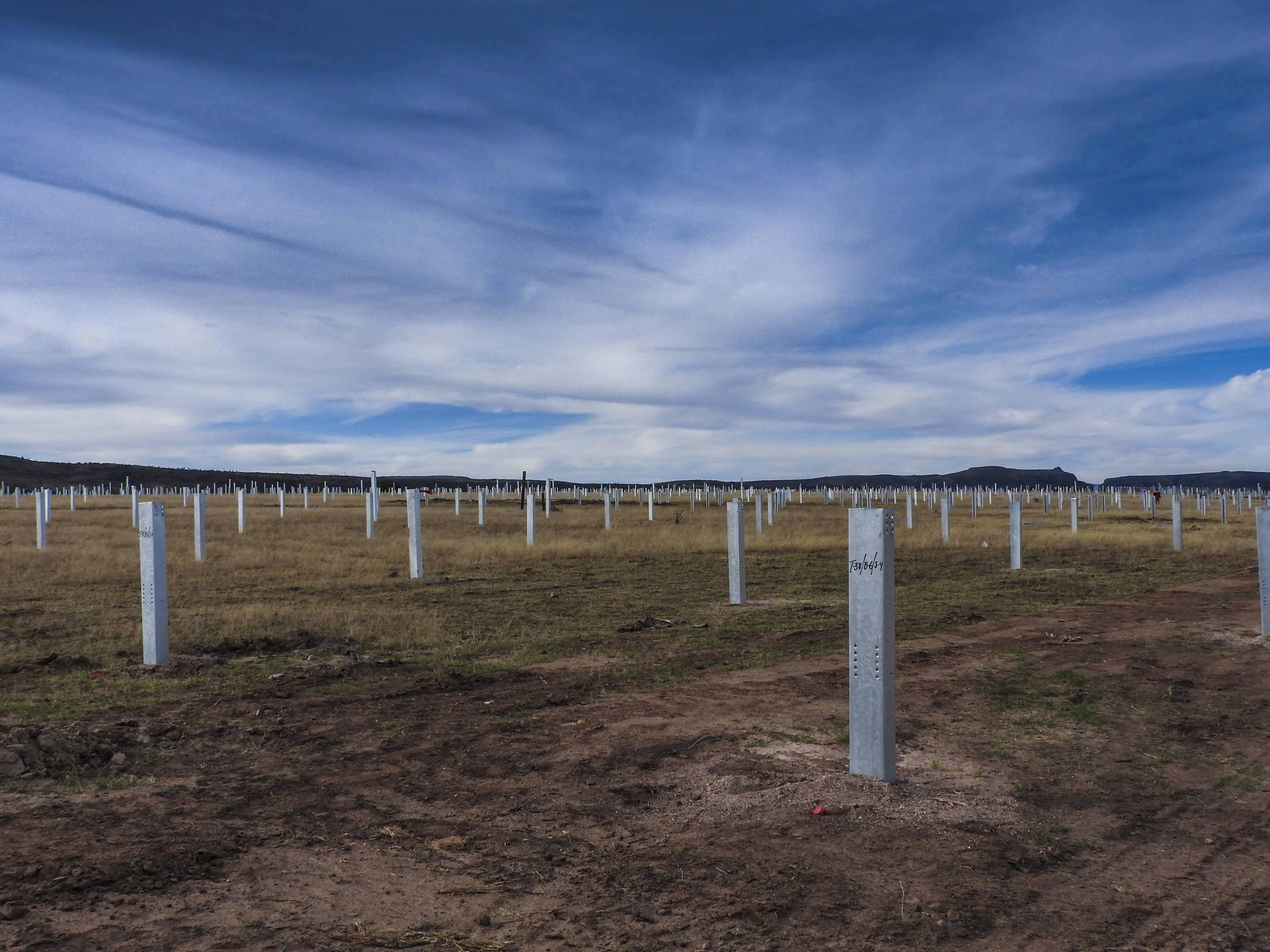 Avanzan a buen ritmo los trabajos en la Planta Fotovoltaica Horus Solar en Aguascalientes, Mexico
