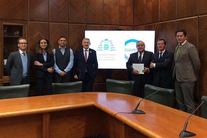 La Universidad de Oviedo e ISASTUR crean una cátedra centrada en el desarrollo sostenible de las energías renovables