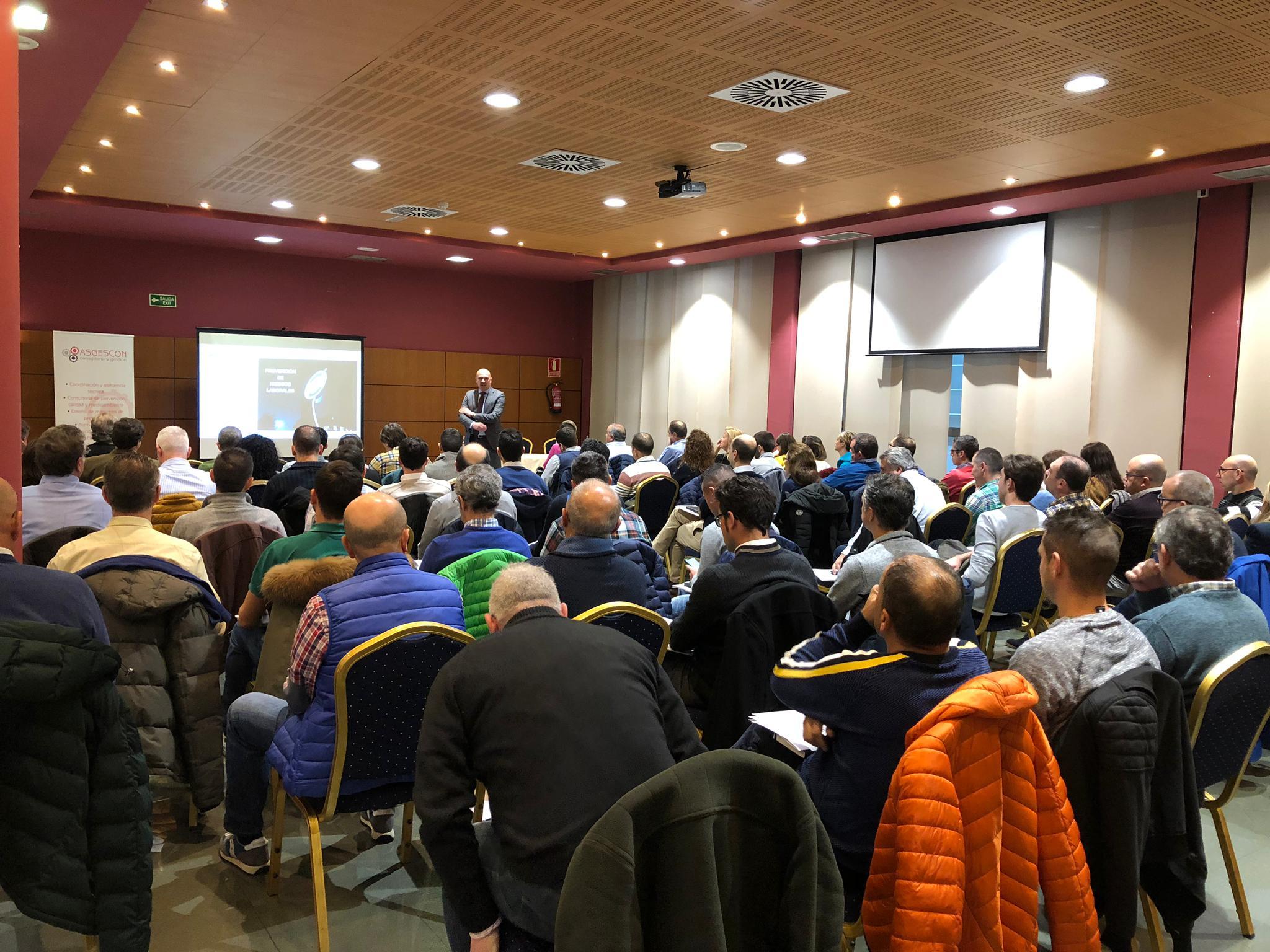 El Grupo ISASTUR celebró su Jornada Anual de Prevención de Riesgos Laborales