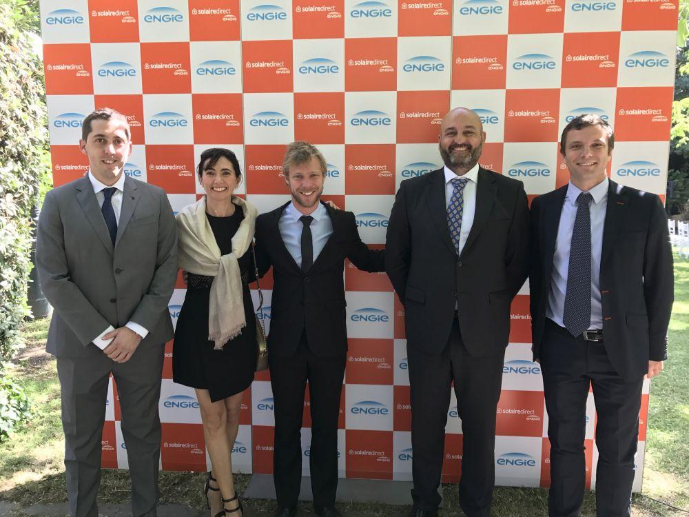 La Embajada Francesa en Chile acogió el acto de inauguración oficial de la planta fotovoltaica de Los Loros