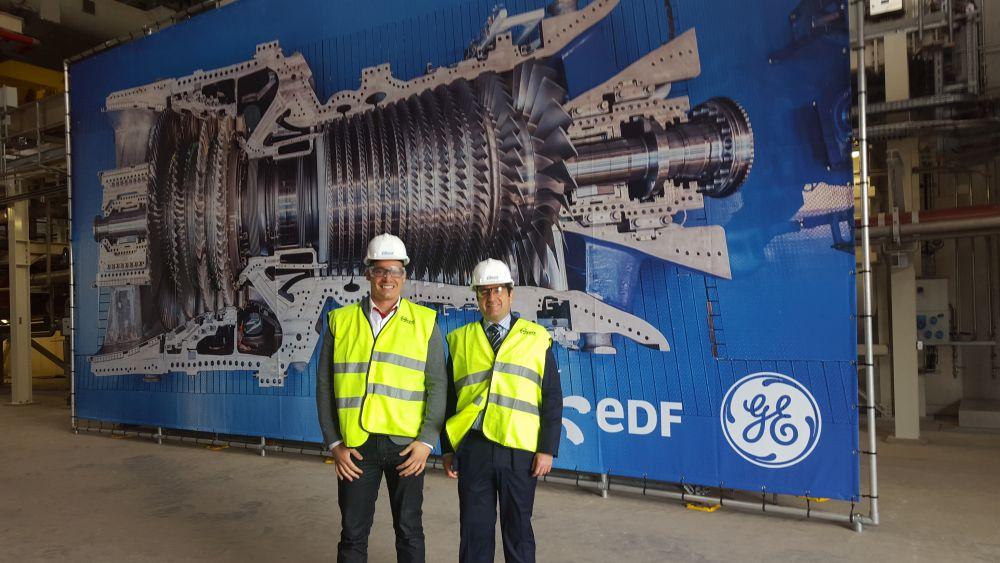 La central de Bouchain refuerza los lazos de ISASTUR y General Electric