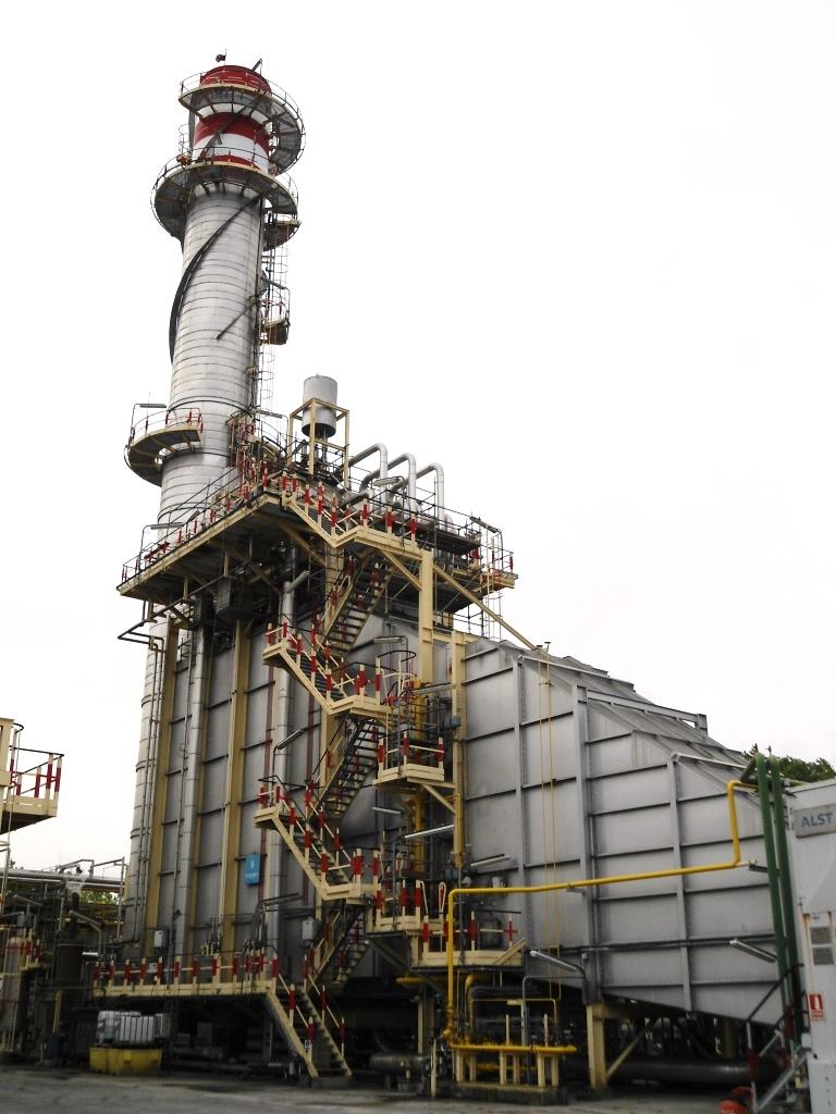 Caldera HRSG Planta Cogeneración Dynasol Elastómeros