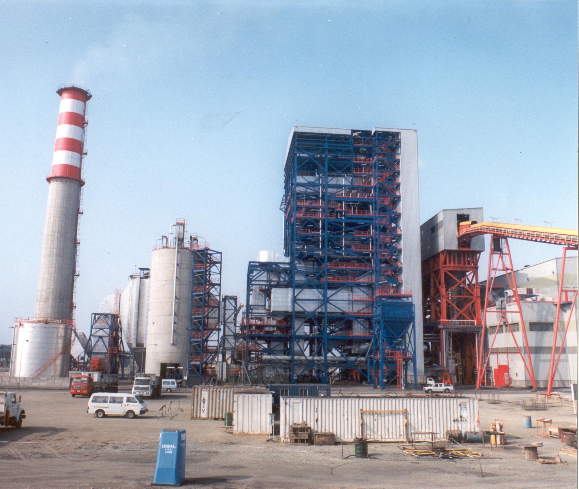 Montaje Integral Central Térmica Mejillones 150 MW (obra civil y montaje electro-mecánico)
