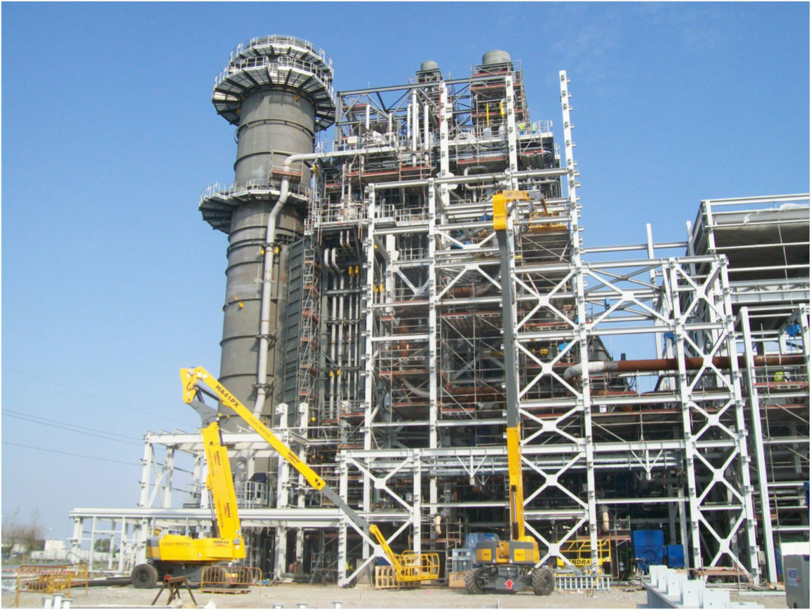 Central Ciclo Combinado MONTOIR - 435 MW. Montaje Mecánico equipos y tuberías