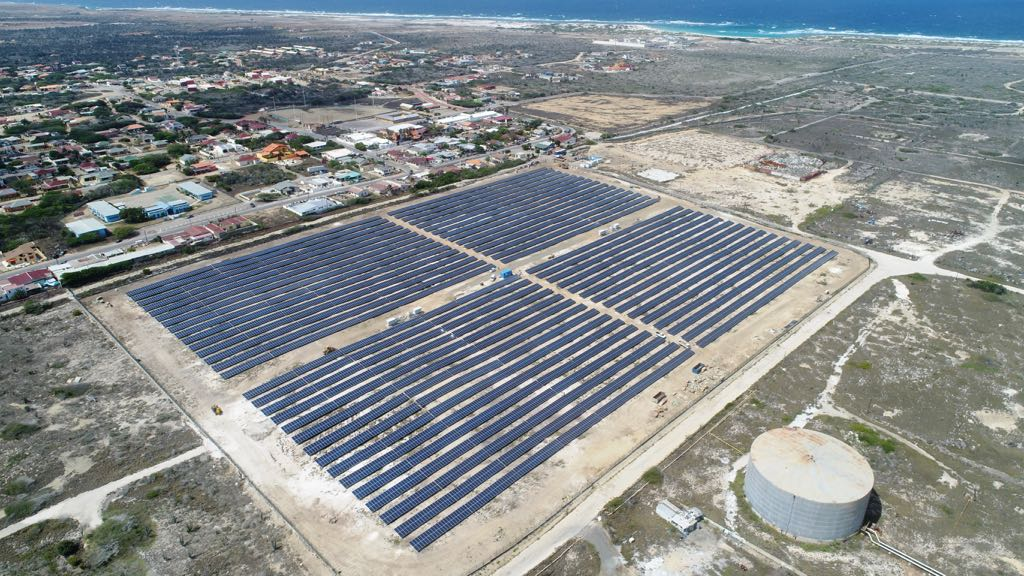 Planta solar fotovoltaica Sunrise 5 MW. Aruba