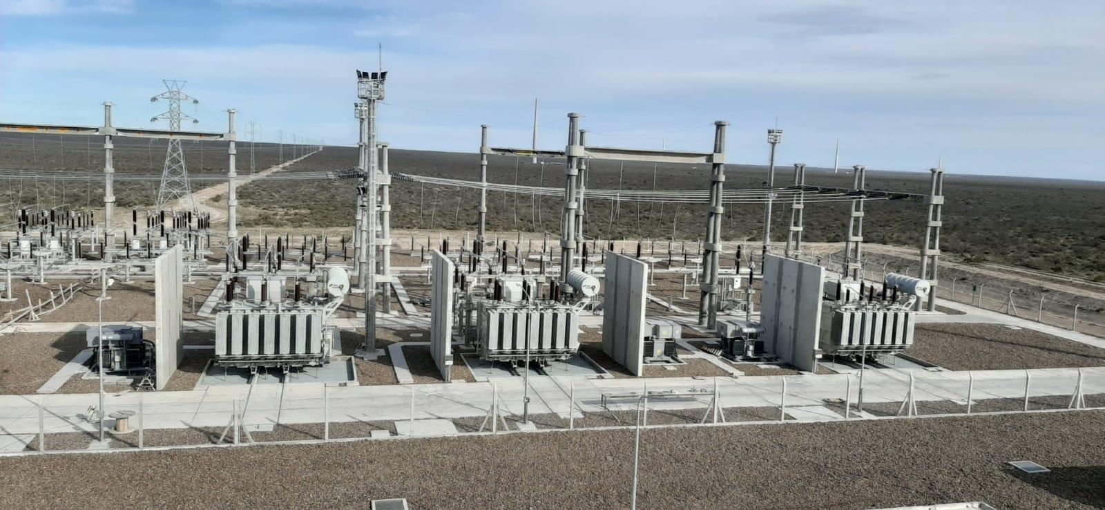 Subestación Parque eólico Chubut Norte 33/132 kV