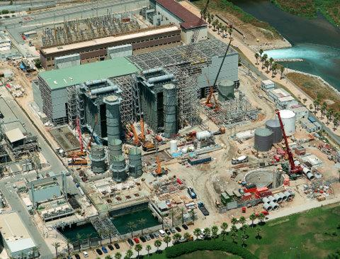 Mechanical assembly of the UTE BESÓS 850 MW combined cycle power plant