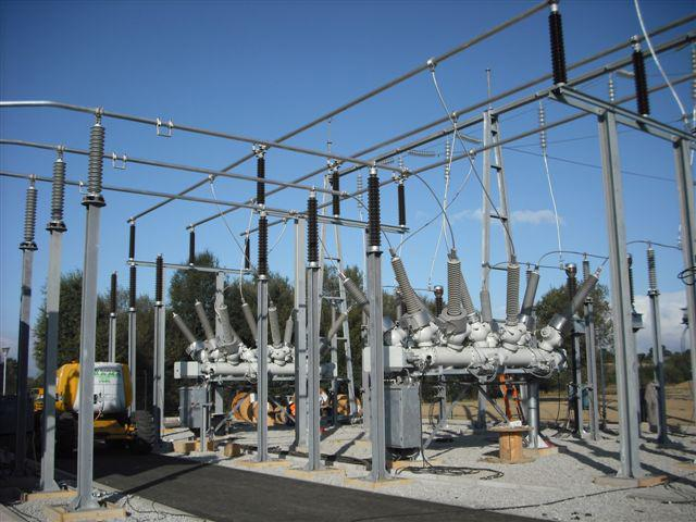 San Cibrao 20/132 kV substation