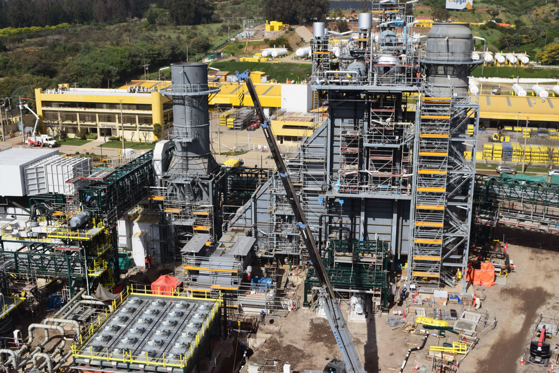 Planta Cogeneración ENAP Aconcagua
