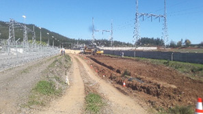 Construcción Ampliación Subestación de interconexión Mulchén para la línea de transmisión Tolchen