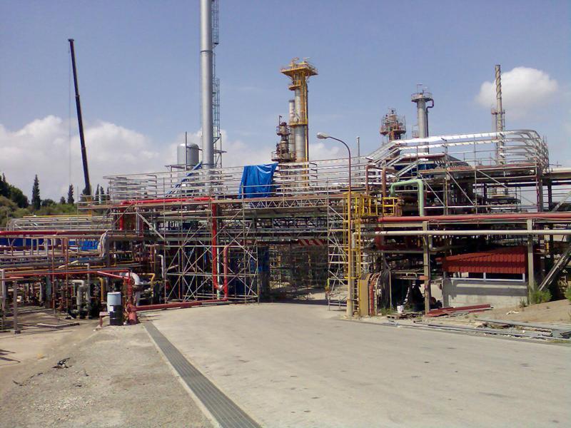 Montaje eléctrico nueva planta de hidrógeno