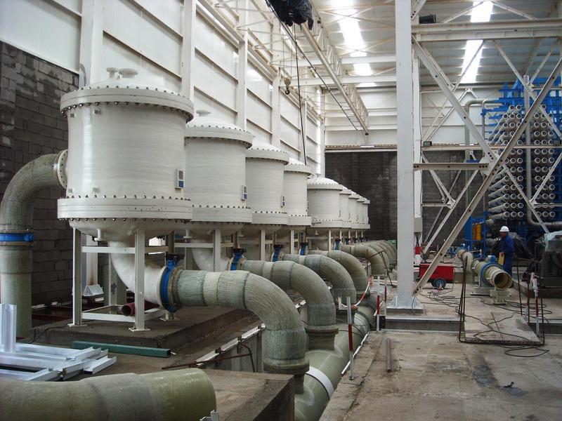 Cap Djnet desalination plant
