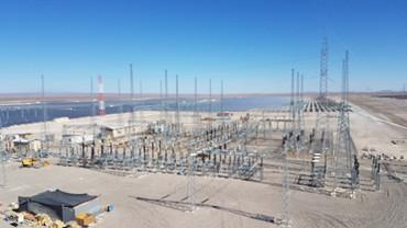 Seccionamiento segundo circuito de la LAT 2x220 KV Lagunas-Crucero en la S/E María Elena