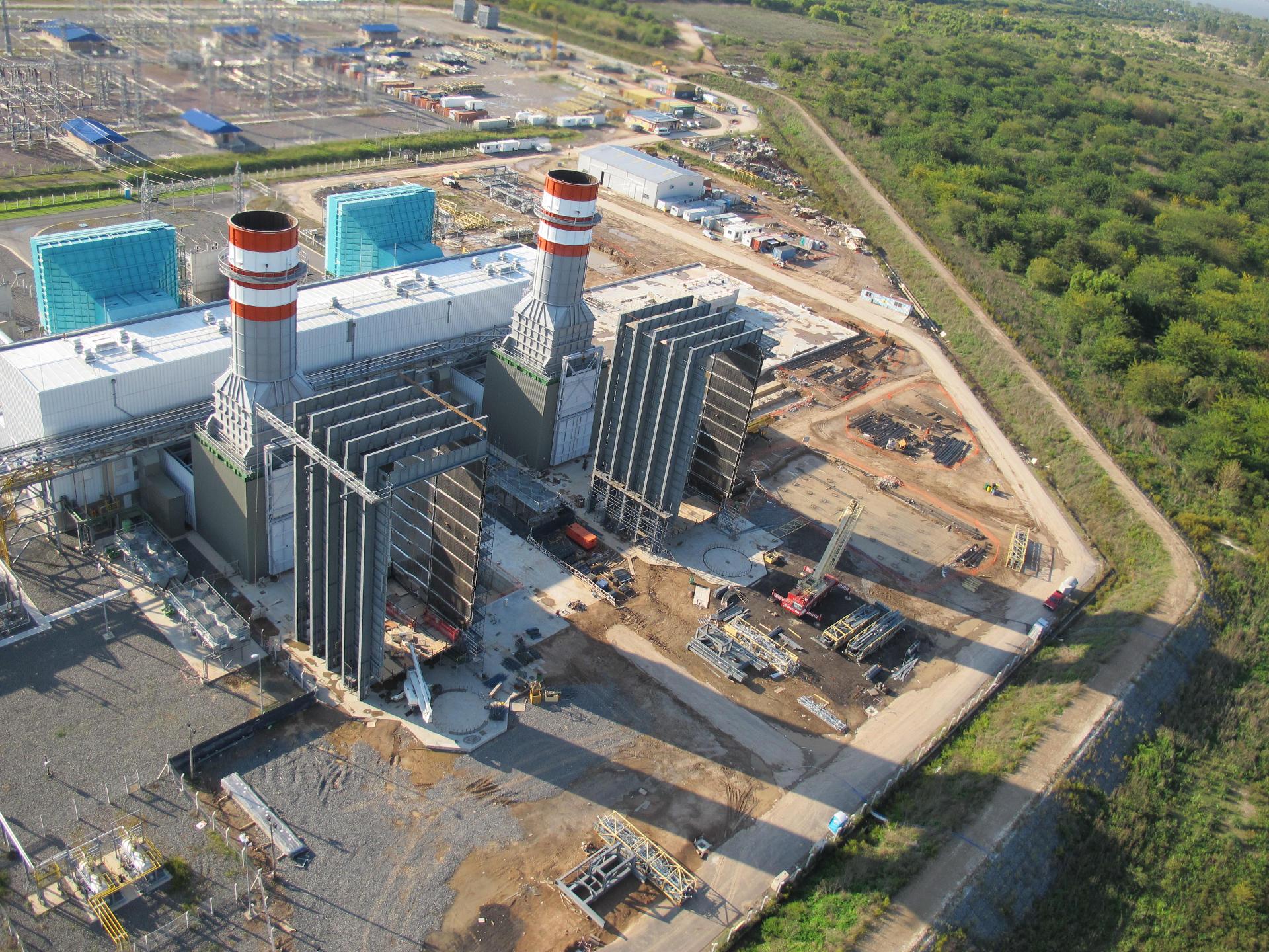 Central Ciclo Combinado Ensenada de Barragán - 850 MW.