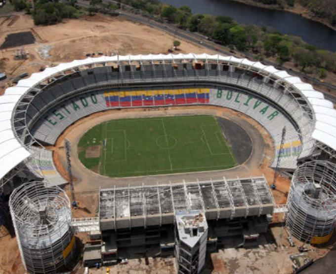 Cachamay  football stadium (Puerto Ordaz)