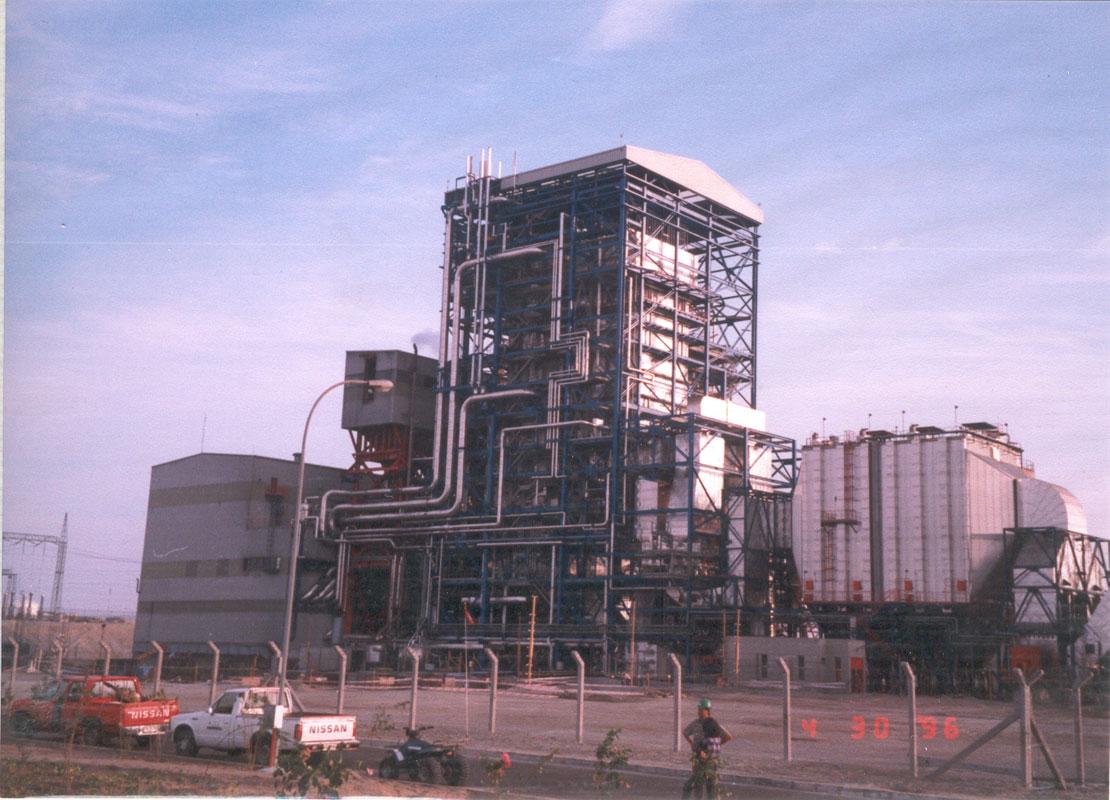 Mantenimiento Integral Electromecánico de la Central Térmica de Mejillones 165 MW