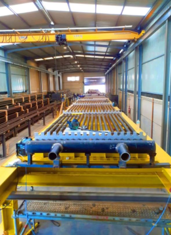 Fabricación y Suministro de Bancos AP de EB001 Refinería La Rábida