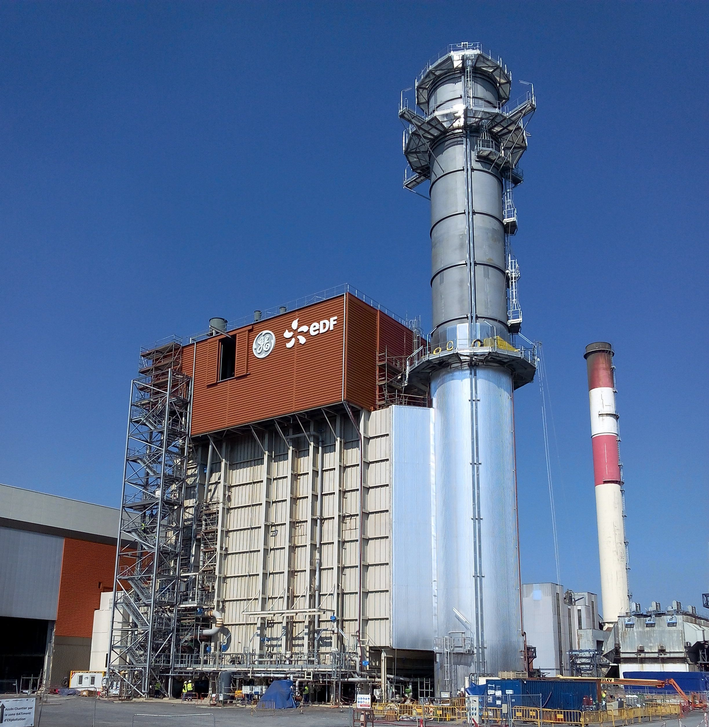 PEM / Commissioning Ciclo Combinado Bouchain - 575 MW