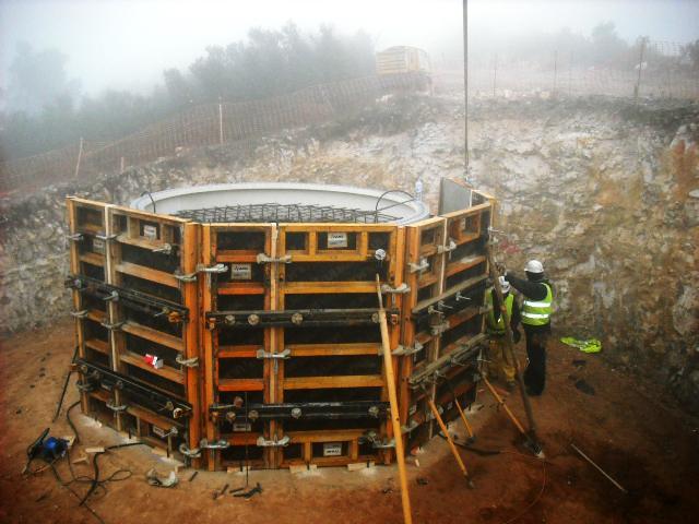 Parque eólico del Coll de la Garganta 22 MW