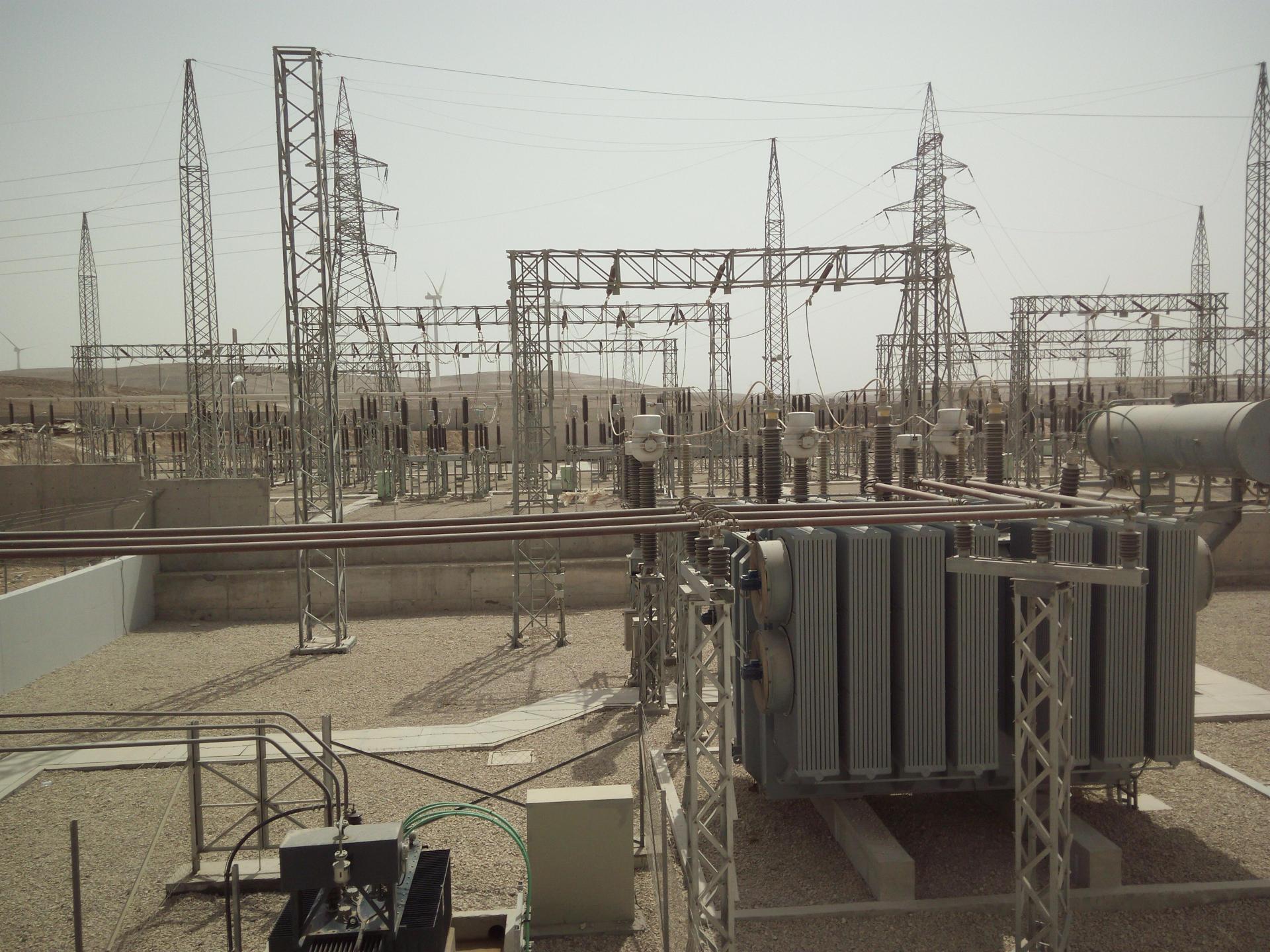 Parque eólico Al Tafila 117 MW
