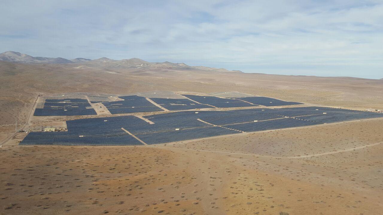 Planta solar fotovoltaica Los Loros 50 MW.
