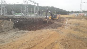 Subestación 220 kV de interconexión Mulchén para la línea de transmisión Tolchen