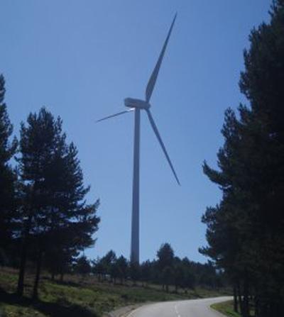 Maintenance of the Sierra de Tineo wind farm