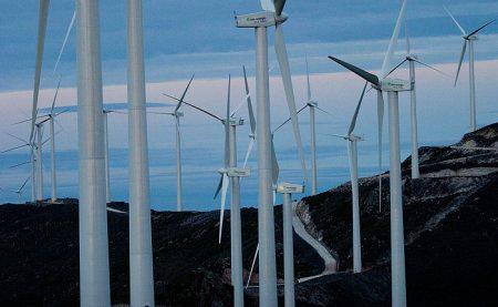 Mantenimiento parque eólico de Begega