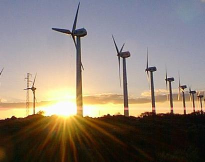 Mantenimiento del parque eólico Piedras del Alto