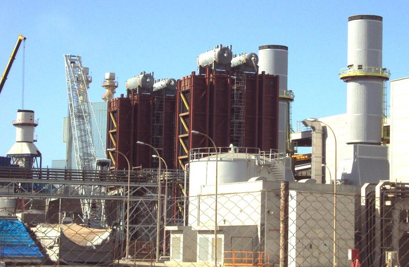 Mechanical assembly of boilers, power island and BOP Granadilla 235 MW combined cycle power plant, P