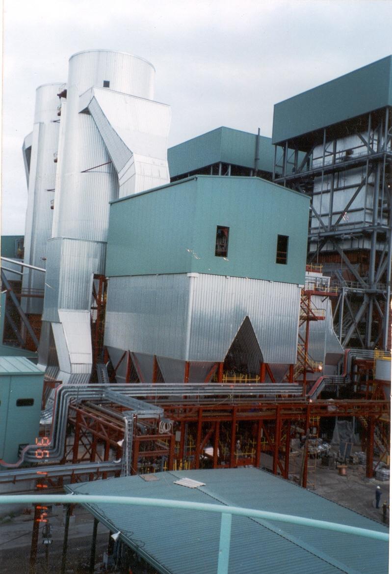 Alcudia Grupo 3  y 4. 130 MW. Montaje de dos calderas de carbón y fuel