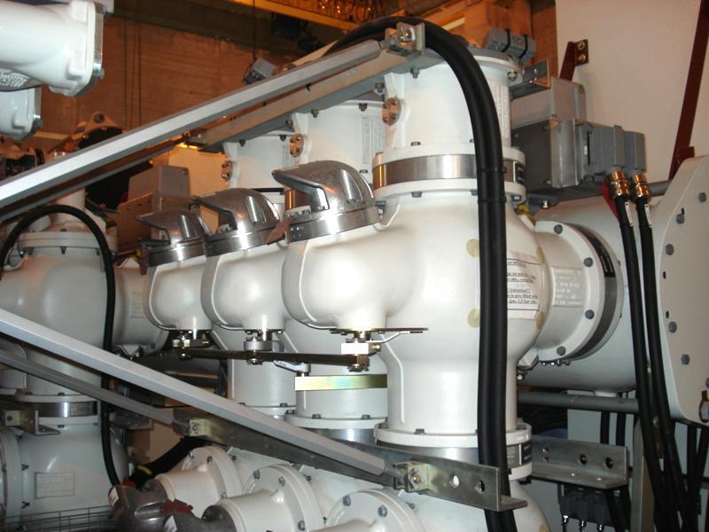 Subestación Telledo GIS 220 kV