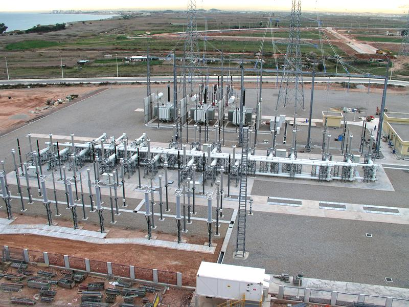 Morvedre 400kV substation