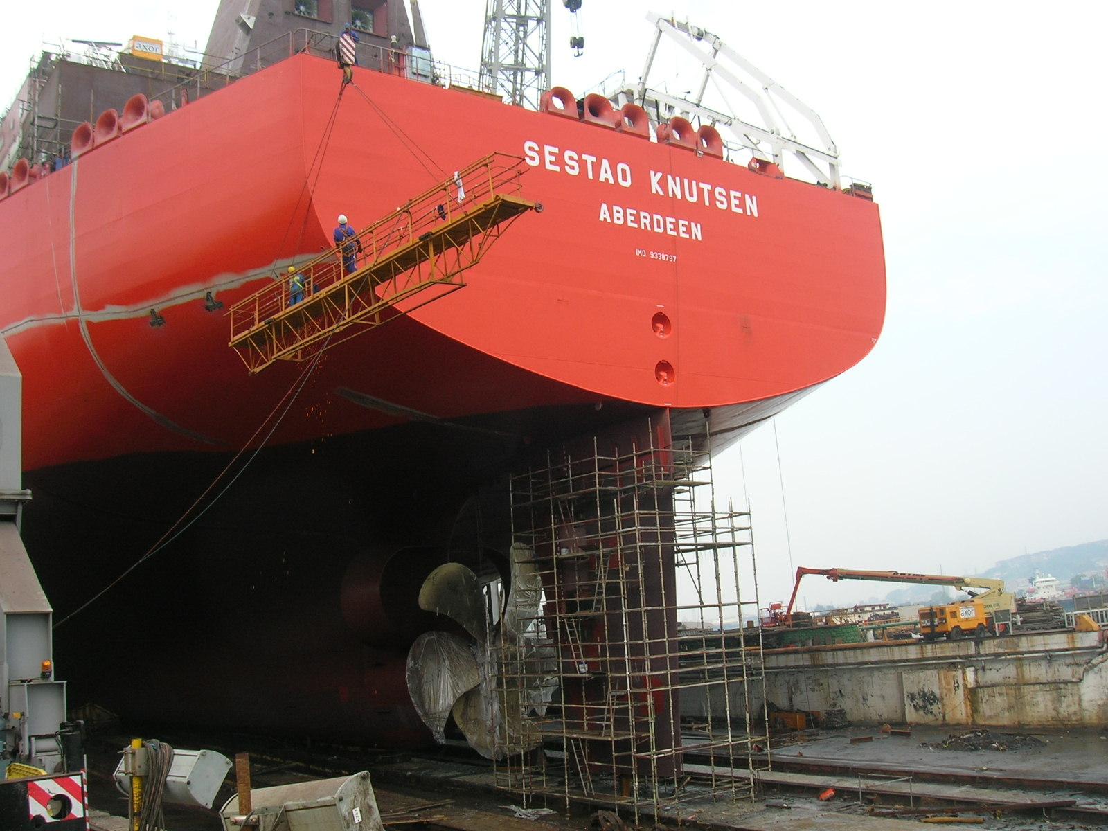 """Cargo Handling System Buque C-331  """"Sestao Knutsen"""""""