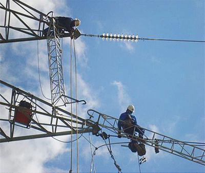 Línea de 132 kV entre las subestaciones de Quintanilla y Negredo