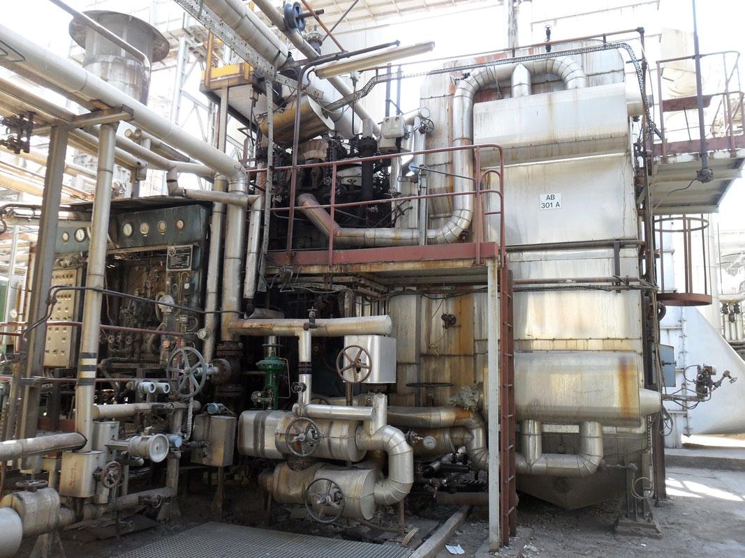 Sustitución de Tambores y Haz Tubular Caldera Industrial 40 t/h en CEPSA