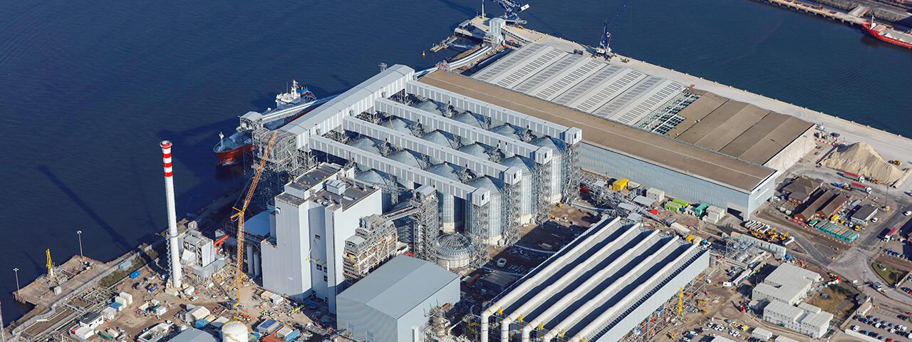 Planta de Biomasa Teesrep - 299 MW