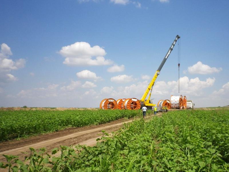 Línea de 110 kV subterránea evacuación parques eólicos Cernavoda I y II