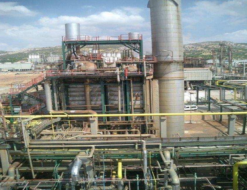 Planta Olefinas C.I. Puertollano - Sistema precalentamiento condensado caldera cogeneración