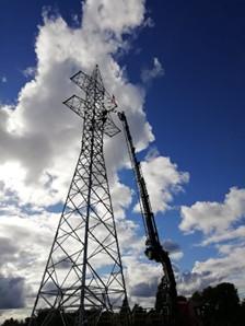 Construcción Línea Transmisión TOLCHÉN
