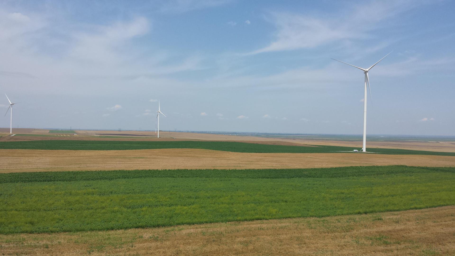 Parque eólico Facaeni 120 MW