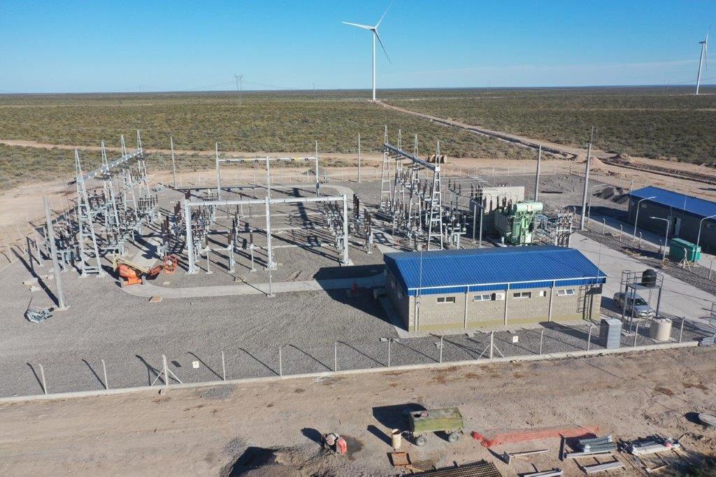 Parque eólico Pomona 112 MW