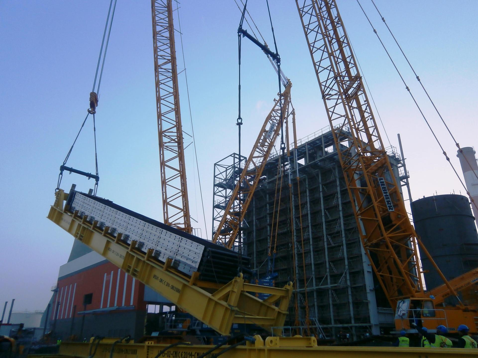 Revamping/Reparaciones/Parada Ciclo Combinado Bouchain - 575 MW