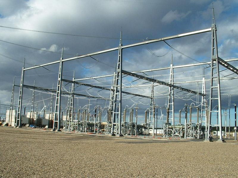 Fuendetodos 400 kV substation