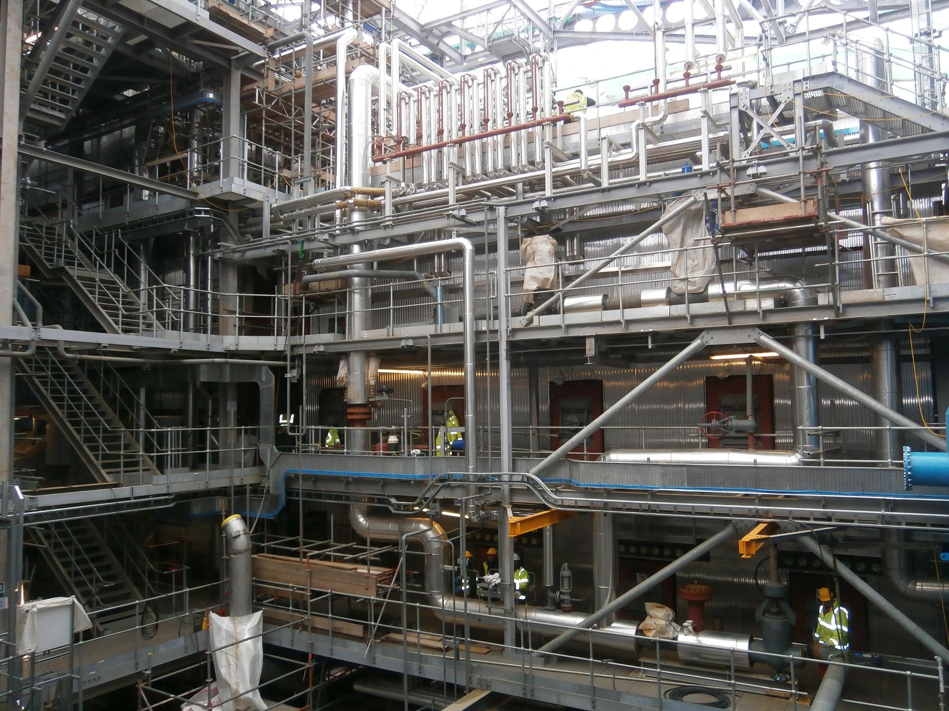Waste Plant. Suministro, fabricación y montaje de tubería