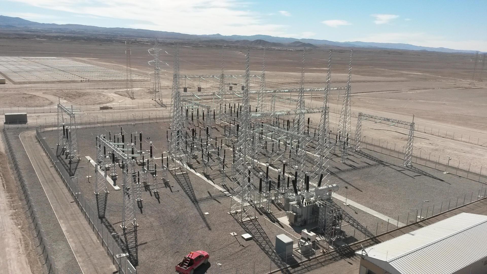 SUBESTACIÓN 220/23 kV PLANTA SOLAR CRUCERO.