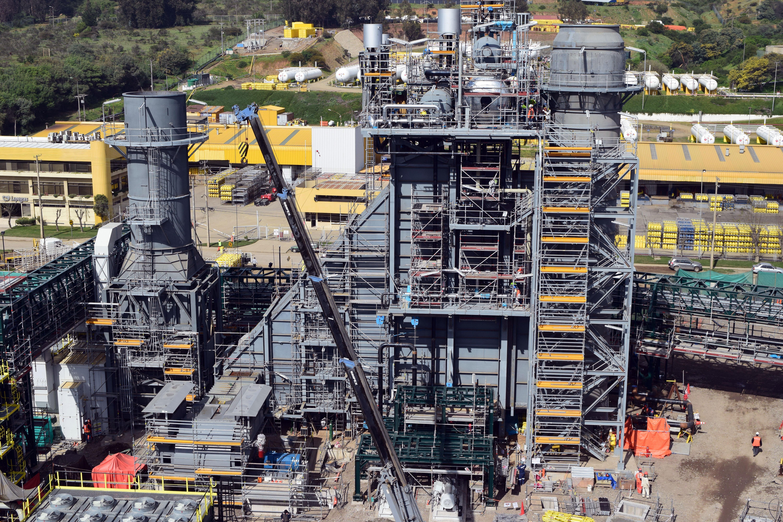 Montaje HRSG Central de Cogeneración ENAP Aconcagua - 77 MW