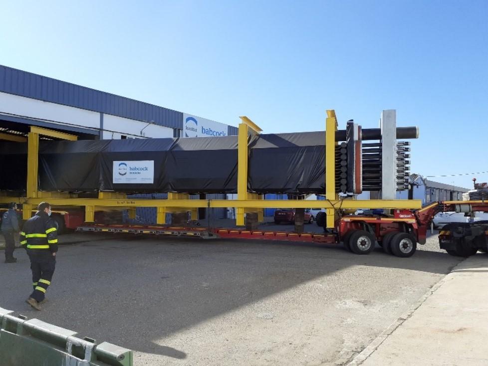 Refinería La Rábida - Evaporador HP Caldera HRSG